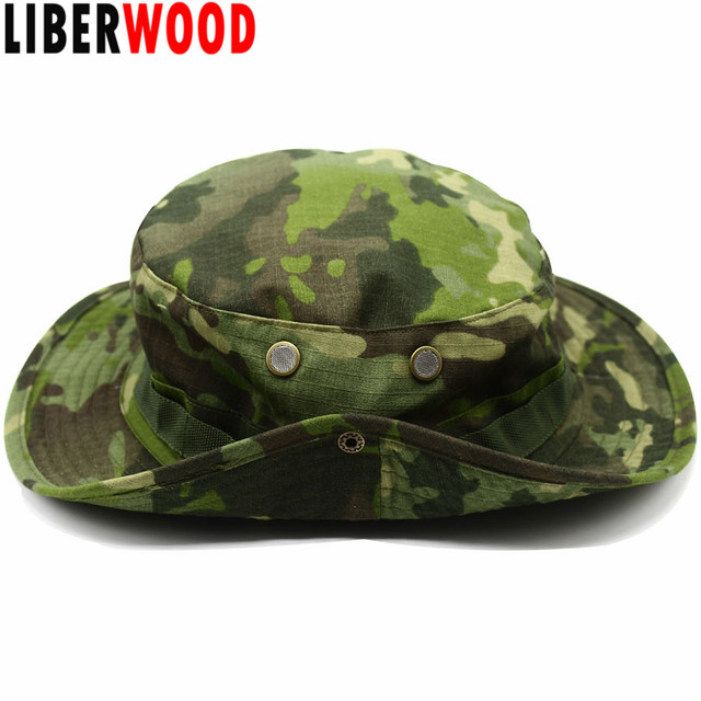 b10f5aa312a LIBERWOOD Tactical hat Boonie hat cap for Wargame
