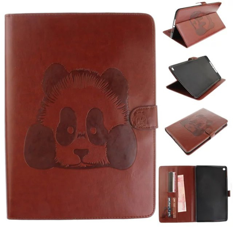 Fashion PU Leather Flip Cover For Apple iPad Air 2 Case with Card Holder Tablet wallet Smart Cover For iPad Air2 For iPad 6 case