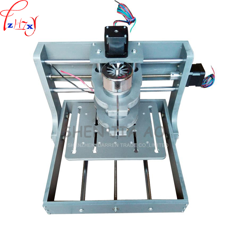 1pc110/220V DIY CNC Wood Carving Mini Engraving Machine PVC Mill Engraver Support MACH3 System PCB Milling Machine CNC 2020B cheap advertising woodworking cnc machine mini cnc router 6090 for wood pvc sheet carving and engraving