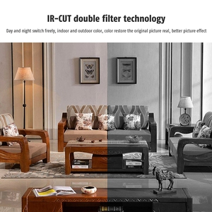 Image 5 - WANSCAM K22 Drahtlose WiFi Motion Erkennung Alarm IP66 Wasserdichte Triple Digitale Zoom Infrarot Nachtsicht Überwachung Kamera