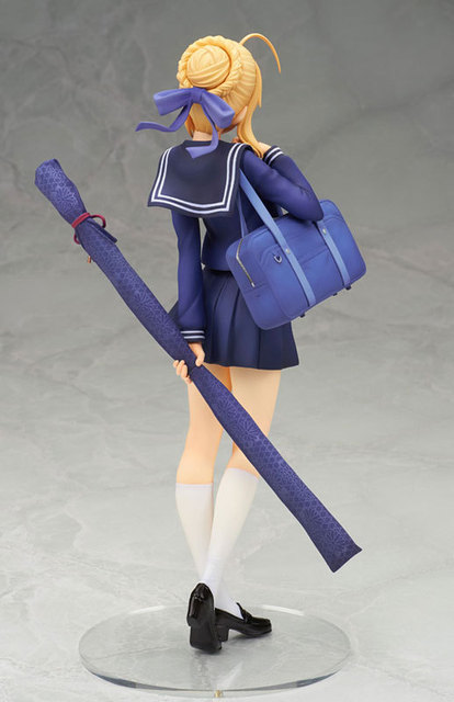 New 20cm Fate Stay Night Saber Action Figure PVC Collection Model toys brinquedos for christmas gift free shipping