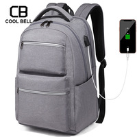 Business Men Backpack Sports Men Casual USB Charging Travel Backpack Laptop School Bags For Teenage Waterproof Backpacks Male