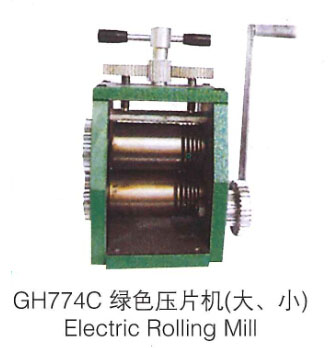 Hand Operate Rolling Mill mini gold Rolling Mill jewelry rolling mill цена