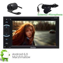 Android 6.0 2 Din HeadUnit Car Stereo GPS Navigation Touch Screen Mirroring Bluetooth Autoradio DVD CD Player FM/AM WIFI USB SD