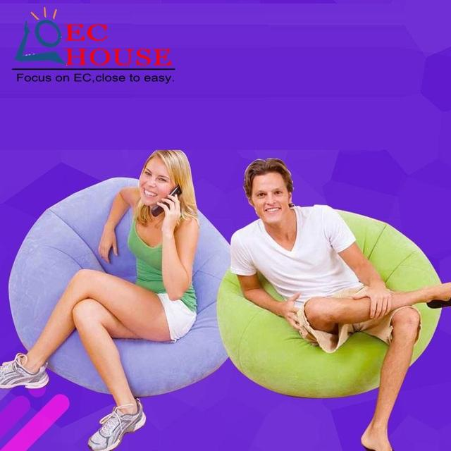 Cr interior criativo ao ar livre do saco de feijão sofá preguiçoso bonito inflável FRETE GRÁTIS