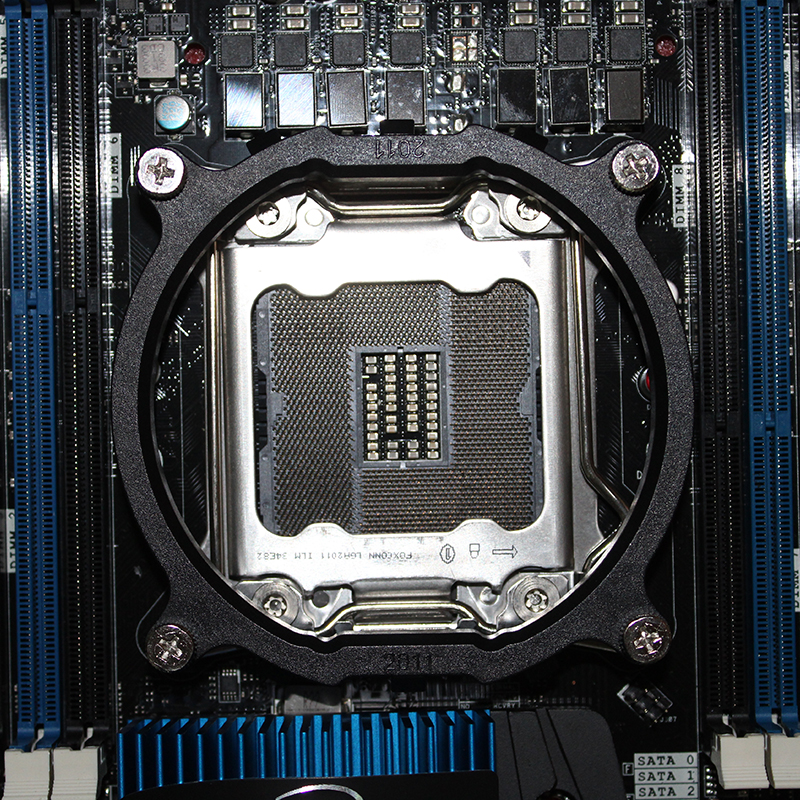 for intel lga 2011 cpu cooler bracket motherboard socket 2011 cpu intall mount plastic stents frame 7
