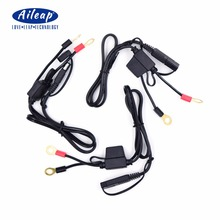 Aileap Ring Terminal to SAE Quick Disconnect Cable Motorcycle 12V Battery Output Connector (3 pieces)