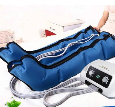 Foot at the bottom of the leg massager crus kneading foot home pedicure machine pneumatic air pressure wave physiotherapy smile at the foot of the ladder