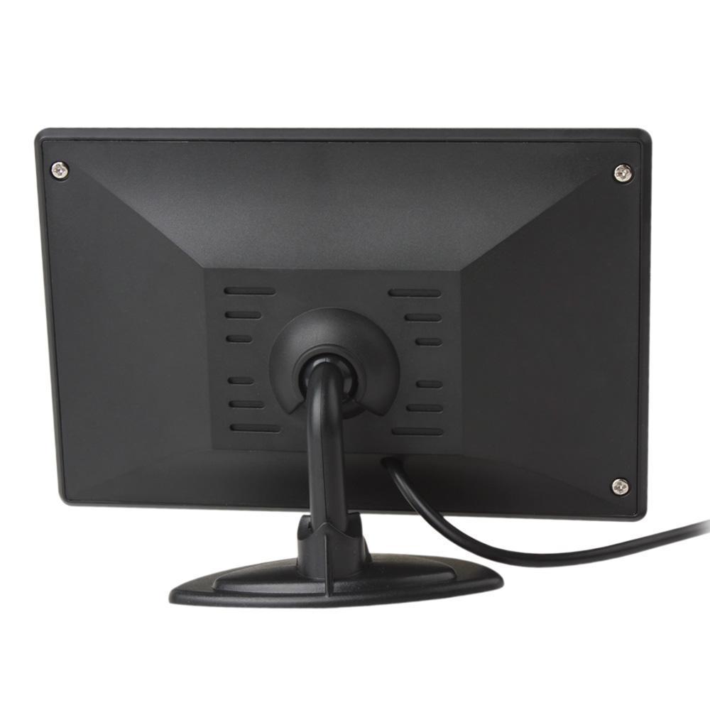 4.3 дюймов цвет TFT цветной жк-дисплей 480х272 заднего вида монитор авто автомобиль парковка заднего хода монитор для камера DVD-видеодисков