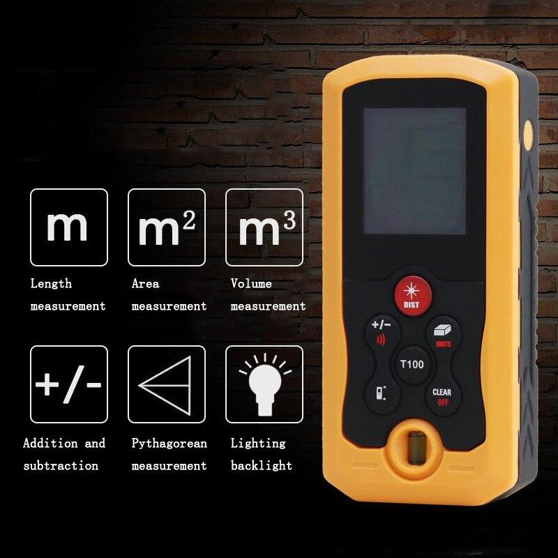 Laser Rangefinder 40m 70m 100m rangefinder infrared measuring instrument electronic rule instrument equipment ruler test tool
