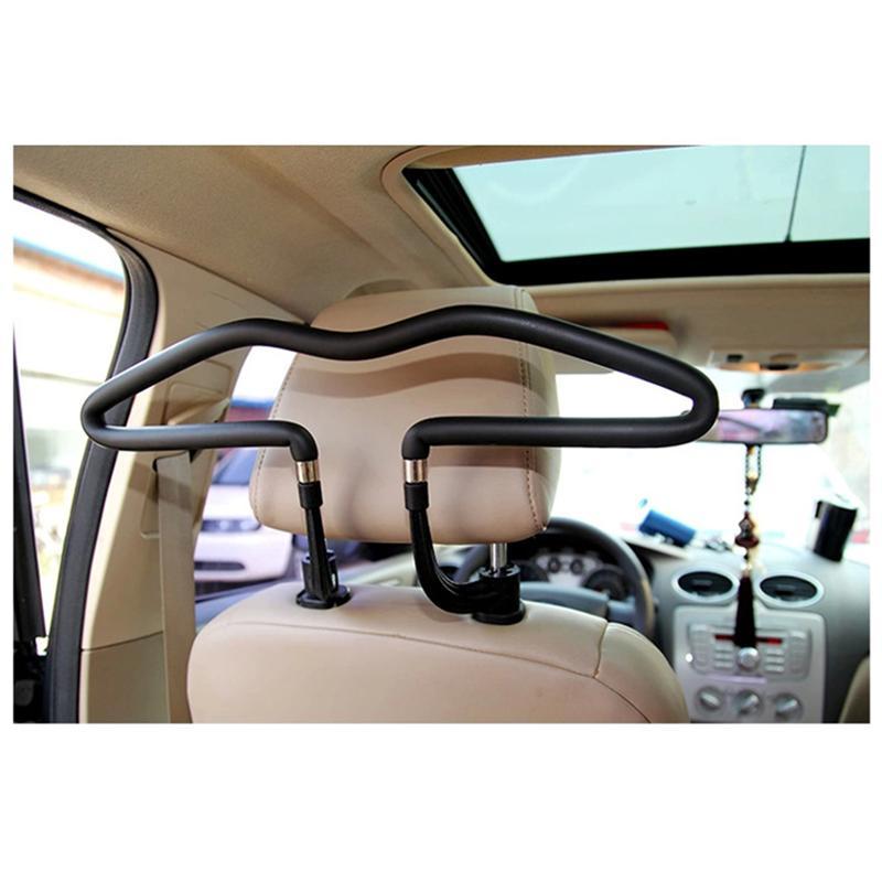 VORCOOL asiento de coche perchas de reposacabezas del asiento ropa colgando soporte chaquetas bolsas perchas gancho de soporte, accesorios del coche