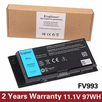 11 1V 97WH New Original Laptop Battery FV993 For DELL Precision M4600 M6600 Replace T3NT1 PG6RC