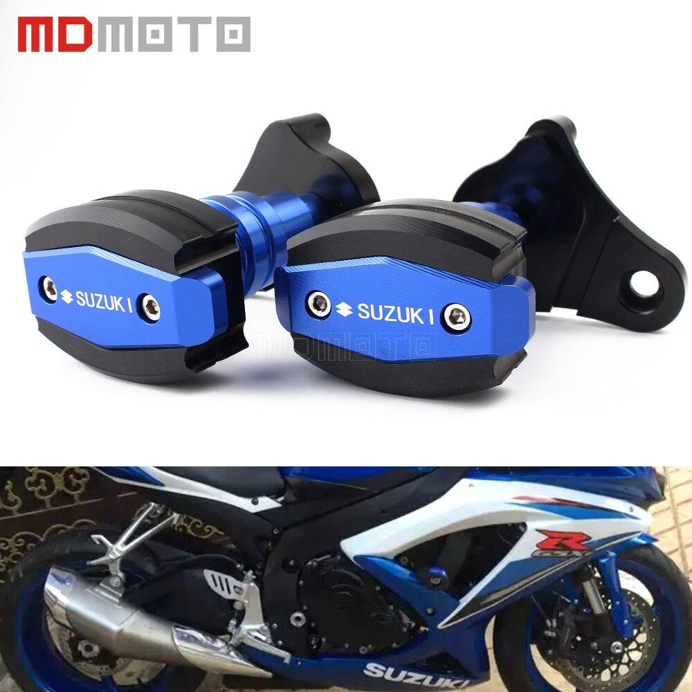 Motorcycle gloves gsxr - For Suzuki Gsxr 600 750 R K6 K8 06 16 Cnc Motorcycle Accessories