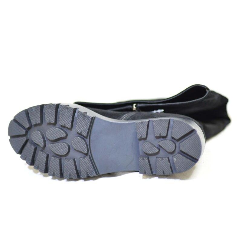 Cuero Sobre Invierno Pritivimin Black Botte Señoras Lana Chica Genuino Arranque Rodilla Piel Zapatos De Femme Verdadera La Caliente A Fn77 Mano Hechos Mujeres 88BEqU
