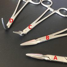 Pince d'extraction de Fragments de racines, 1 pièce, forte adhérence, pour enlever l'os sous la ligne gingivale
