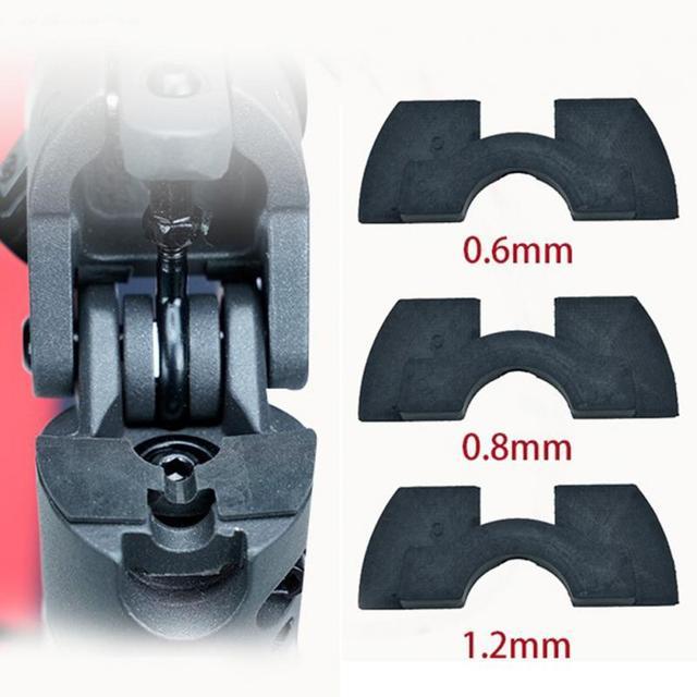 Modificação leve Anti Choque Almofada de Silicone Peças Scooter Amortecedor de Vibrações Para Xiaomi Mijia M365 Ao Ar Livre Wearproof