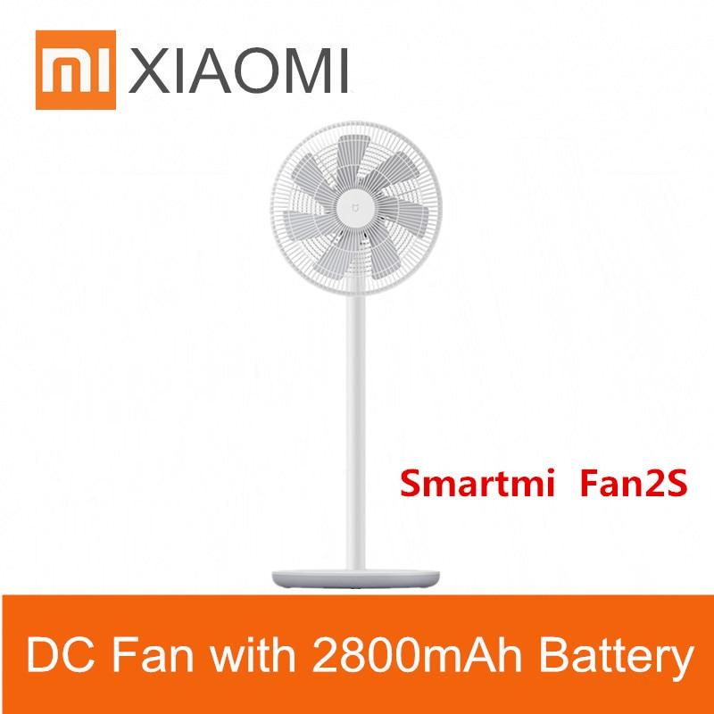 Xiaomi Mi New Smartmi Natural Wind Pedestal Fan 2S With Mijia App Control Dc Frequency Fan 25w 2800mah100 Stepless Speed Control