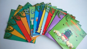 Image 3 - 20pcs/set 15x15cm Usborne Picture Books For Children And Baby famous Story English Tales Series Of Child Book Farm Story