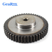 Gear Wheel Metal 1.5Module 70T 45Steel Rc Pinion Gears 10/12mm Bore 1.5 Mould 70Tooth Gear Wheel Spur Gear Pinion