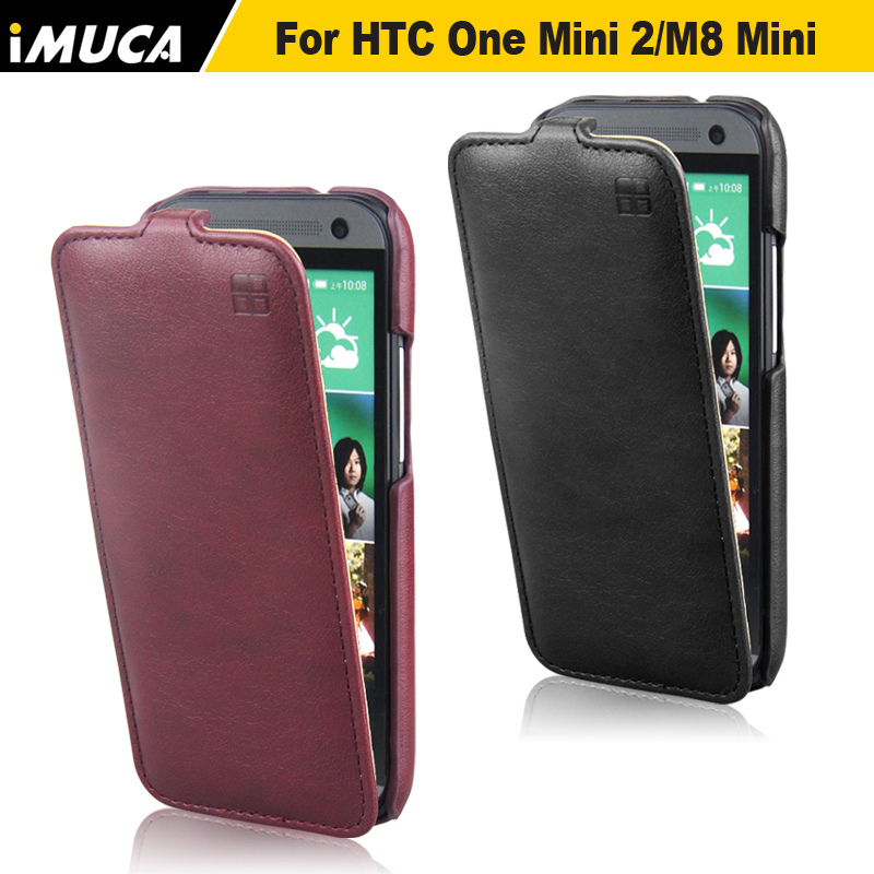 for HTC One mini 2 Case,100% Original Brand Leather Flip Case Cover For HTC One Mini 2 M8 Mini High Quality In Stock
