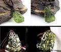 Colar original Venda Quente queda de meteorito Checa pedra bruta Natural de cristal pingente de pedra De Energia dos homens e das mulheres por atacado 4 -- 5g