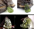Unique Necklace Hot Sale Natural Czech meteorite fall rough stone crystal pendant Energy stone of men and women wholesale 4--5g