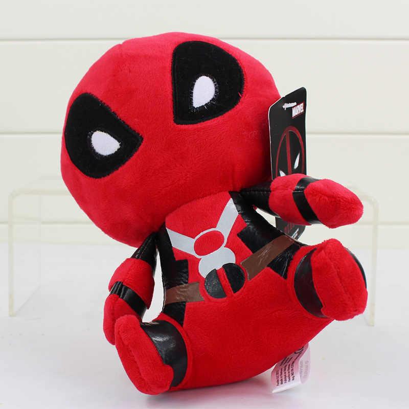 """10 pçs/lote O Deadpool Brinquedos de Pelúcia Macia Stuffed Dolls Pingente 8 """"20 cm Frete Grátis"""