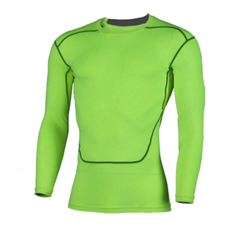 100% QualitäT Yel Freiheit Sport Männer Schnell Trocken T-shirt Langarm Sport Top Männer Fitness Workout Lauf Kleidung Training Hemd Eine VollstäNdige Palette Von Spezifikationen