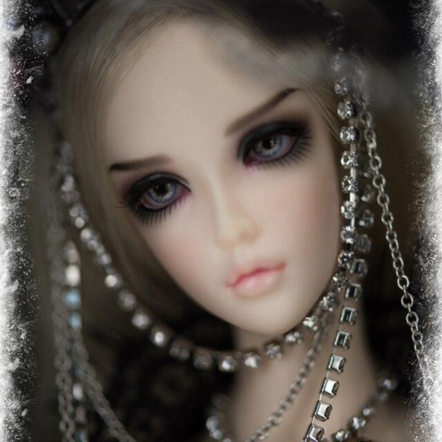 Fairyland ChicLine Chloeตุ๊กตาBjd Sd 1/4 Bodyเรซิ่นรุ่นBodyสาวตาMsd Luts Dommore Oueneifs