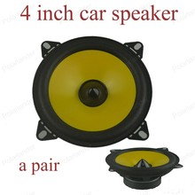 a pair 4 inch Full-range car speaker PS401D Automobile autom