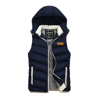 Brand Clothing Men Sleeveless Jacket Coat Autumn Ultrathin Chaleco Hombre Casual White Duck Down Vests Slim