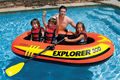 Kingtoy Children and Adult Inflatable boat Rowing boats fishing PVC Boat  1 adult+1 / 3 Kids