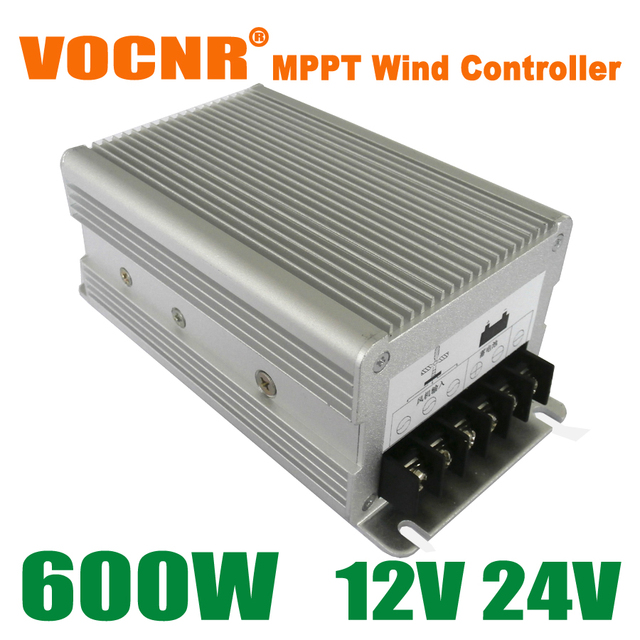 High Quality 600W 12V/24V Auto Wind Power MPPT Charge Controller, Wind Turbine Generator Controller