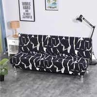 Canapé-lit pliant tout compris housse de canapé enveloppant serré serviette Rekbare Kaft housse de canapé sans accoudoir housse de canap cubre canapé
