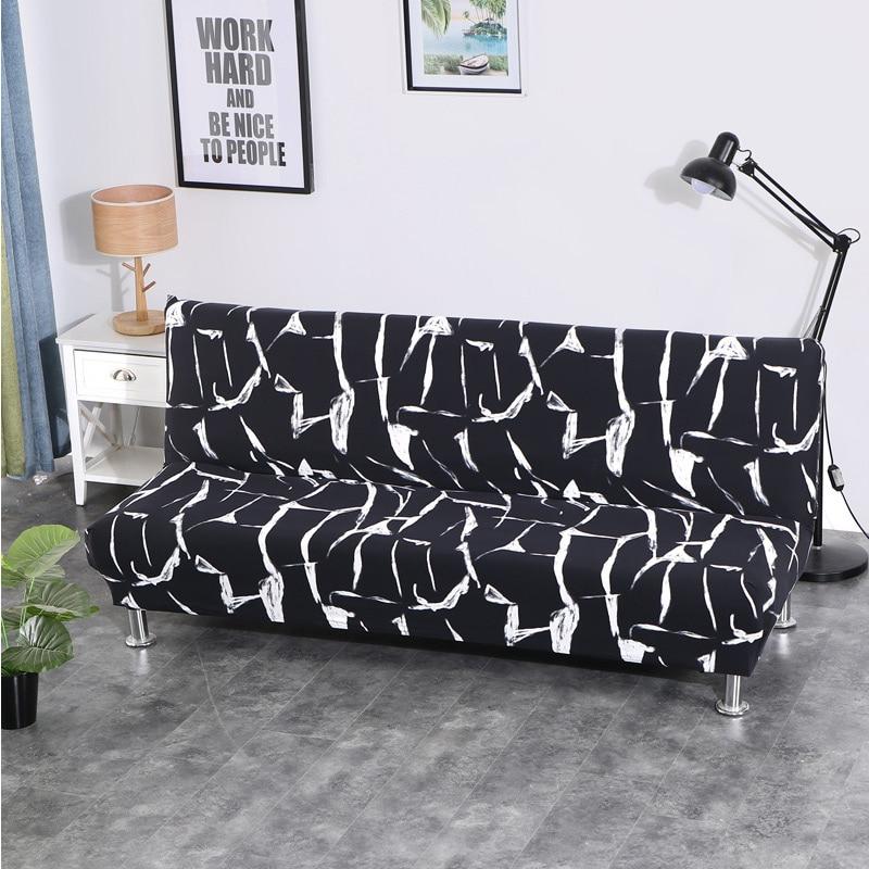 Tout compris Pliage Canapé Lit Couvercle Étanche Wrap Canapé Serviette Rekbare Kaft Canapé Couverture Sans Accoudoir housse de canap cubre canapé