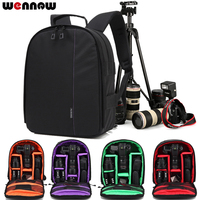 wennew Photographer Backpack Camera Bag Case for Sony A9 A7S A7R A7 III II A99 A68 A65 A580 A390 A650 HX400 HX350 HX300 RX10 M4