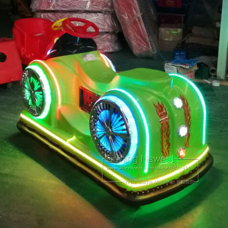 NYST Cheap Price Amusement Park Music Racing Car Moto Motorbike Adults Kids Rides