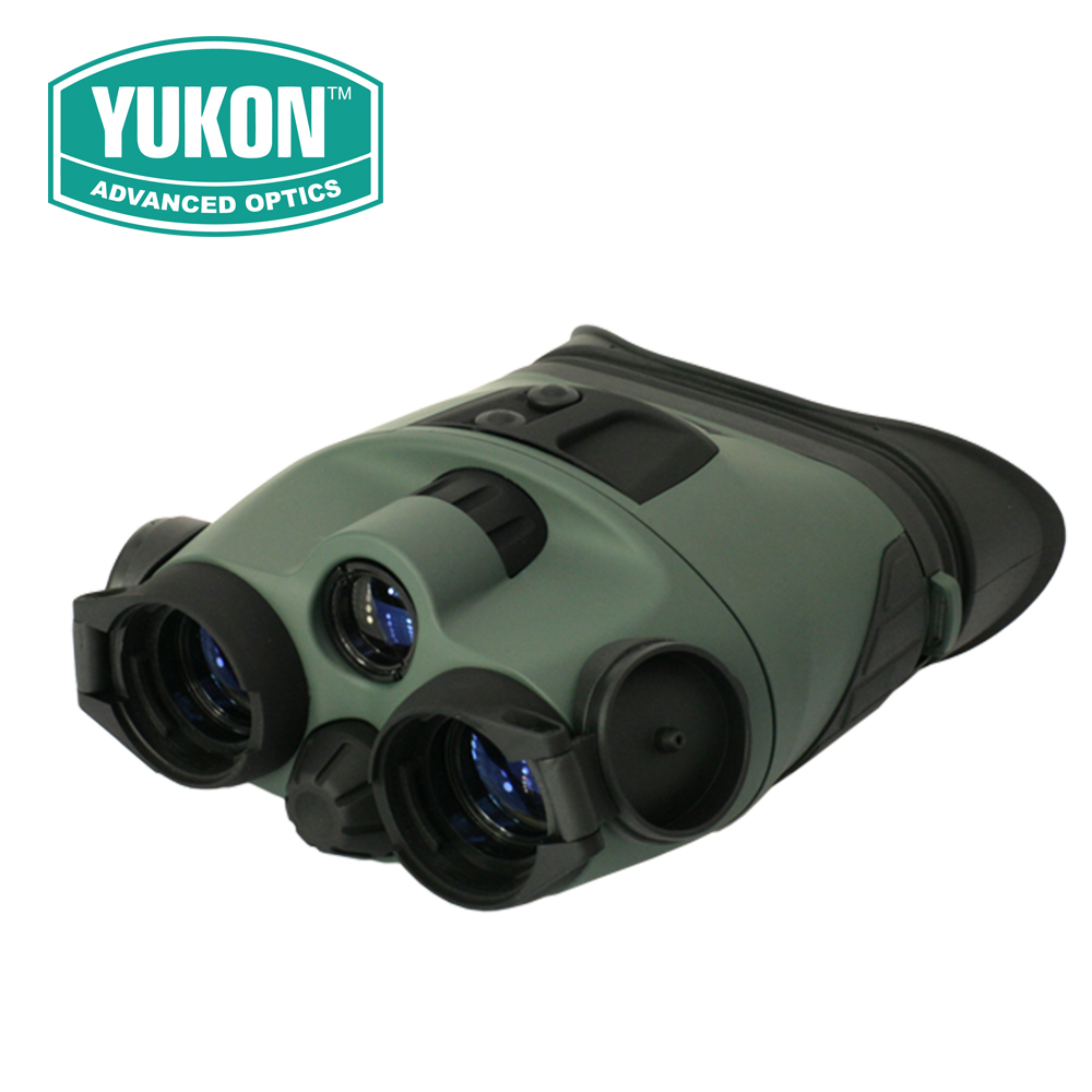 Yukon Tracker 2X24 LT Generation 1 Night Vision Binoculars Goggles Built-in IR-illuminator for Hunting Tactical #25023 yukon nvb tracker rx 3 5x40 night vision hunting nightvision binocular binoculars optical sight riflescope with doubler