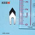 Solide carbide core cutter blades/ Tipped grooving blade SPB-0009