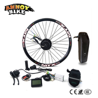 26 inch Electric Bicycle Motor Wheel Bicicleta Electrica Electric Bike 36V350W With Battery LCD Ebike DC Motor Conversion Kit