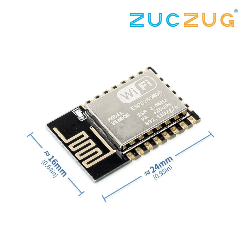 New Version ESP-07 ESP-12E ESP-12F (replace ESP-12) ESP8266 Remote Serial Port WIFI Wireless Module Intelligent Housing System