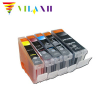 BCI3 BCI6 Ink Cartridge For Canon bci 3 ink For PIXMA ip4000 IP3000 ip3300 S400 S600 S630 S750 i550 i560 i850 i860 without chip 6 color ink cartridge for canon bci 1431 tinta use for canon w6400 w6200 w7250 7250 with chip