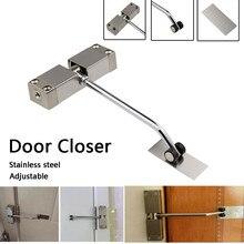 door closer spring Adjustable Automatic Strength Spring Door Closer Hinge Fire Rated Door Channel hotel door latch