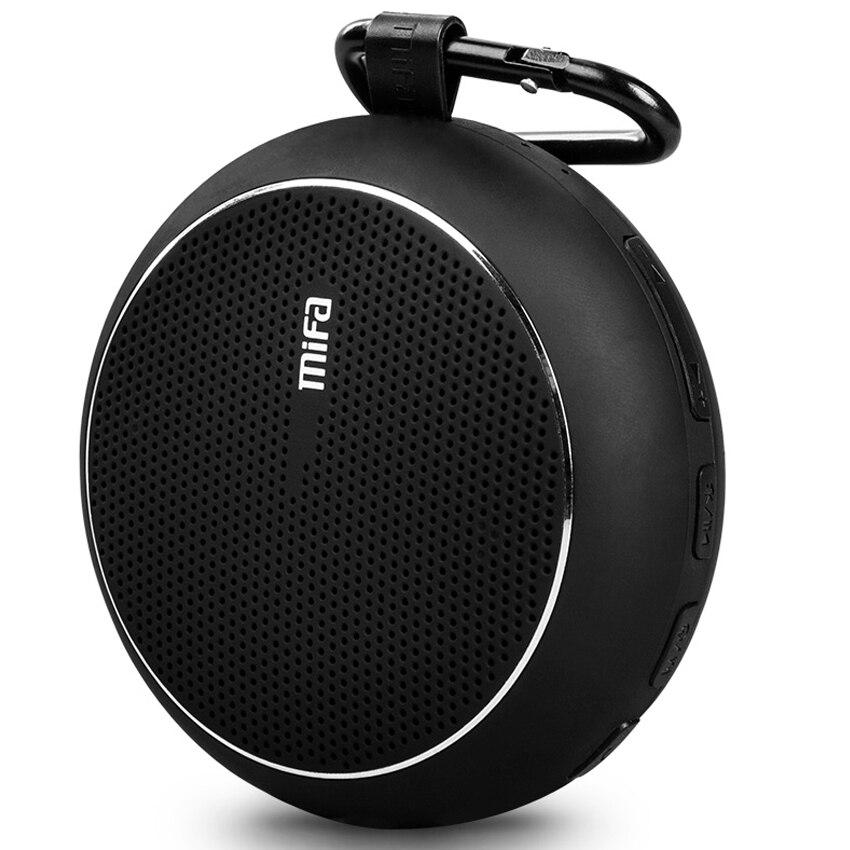 Mifa Bluetooth Speaker Ao Ar Livre acidentado IPX4 falante Alto-falantes À Prova D' Água com a Poderosa Driver embutido Microfone sem fio Ao Ar Livre