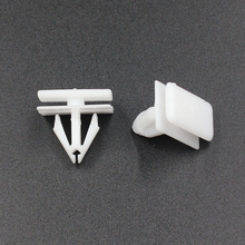 polypropylene fasteners high quality retaining clips for Buick trim panel side moulding retainers rivets white 907