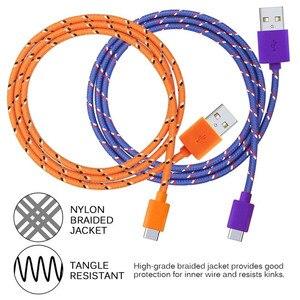 Image 3 - Usb タイプ C 急速充電 usb c ケーブルタイプ c データコード電話の充電器シャオ mi mi note 10 プロ Huawei 社メイト 30 USB 充電器ケーブル