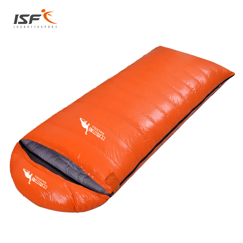 Outdoor Water Resistant Hiking Camping Equipment Ultralight Envelope Warm Duck Down Sleeping Bag nature portable multifuntional ultralight mini duck down mummy shape outdoor camping travel hiking sleeping bag 1100g 2 colors
