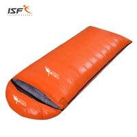 Outdoor Water Resistant Hiking Camping Equipment Ultralight Envelope Warm Duck Down Sleeping Bag