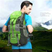 50L Hiking Bags 3 Color Waterproof Backpacks Mountain Travel Climbing Sport Bags