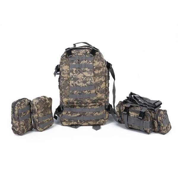 50L 3 jours d'assaut tactique en plein air militaire sacs à dos sac de Camping